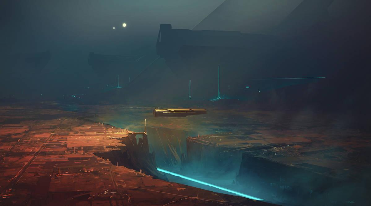 Titans Valley by Grivetart