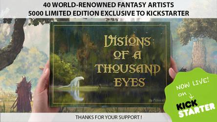 Visions Of A Thousand Eyes - Artbook Kickstarter by Grivetart