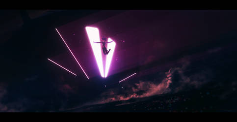 Landing lights by Grivetart