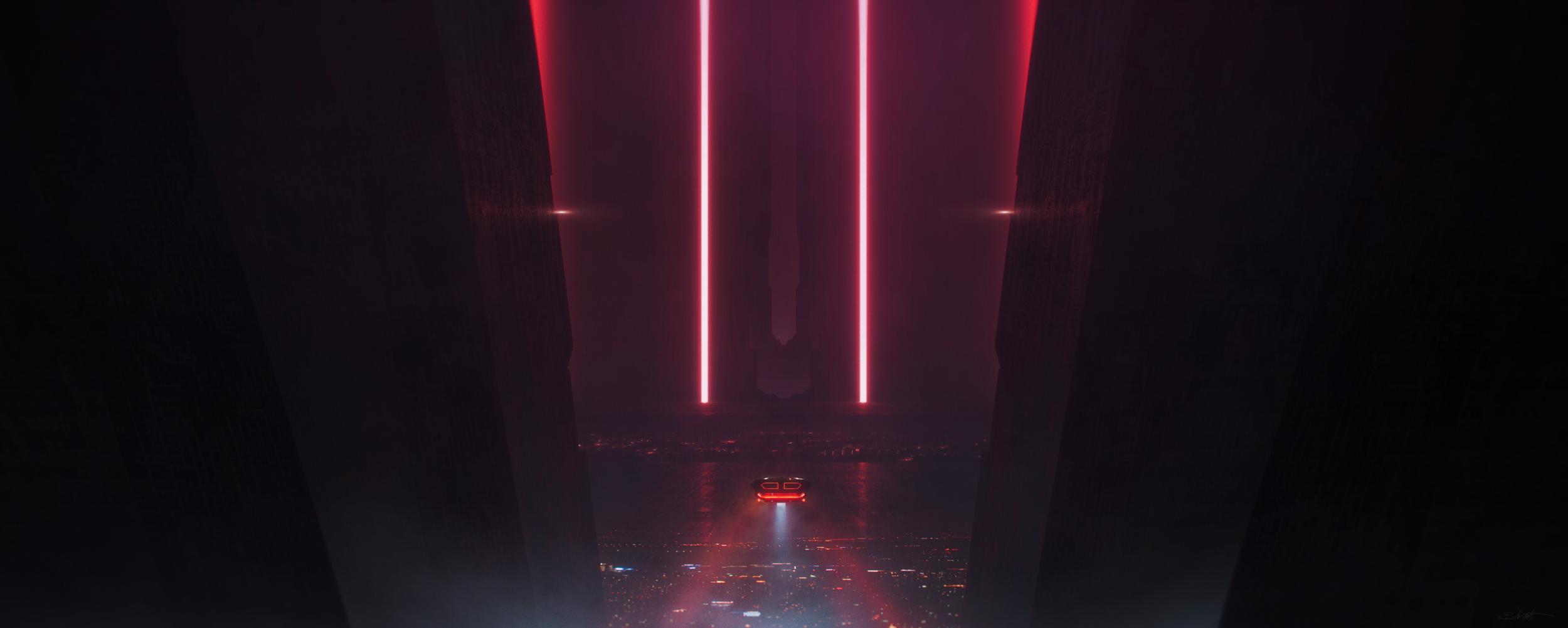 Blade Runner 2049 Tribute 1 By Grivetart 2500x1000 Wallpapers