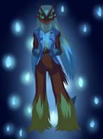 Echo the Blaziken by RubyofBlue