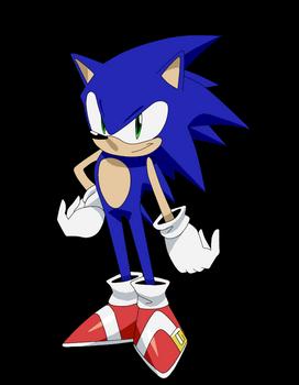Mock Sonic Anime Design