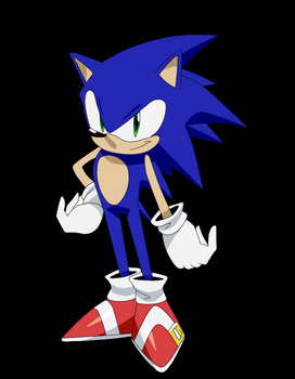Mock Sonic Anime Design