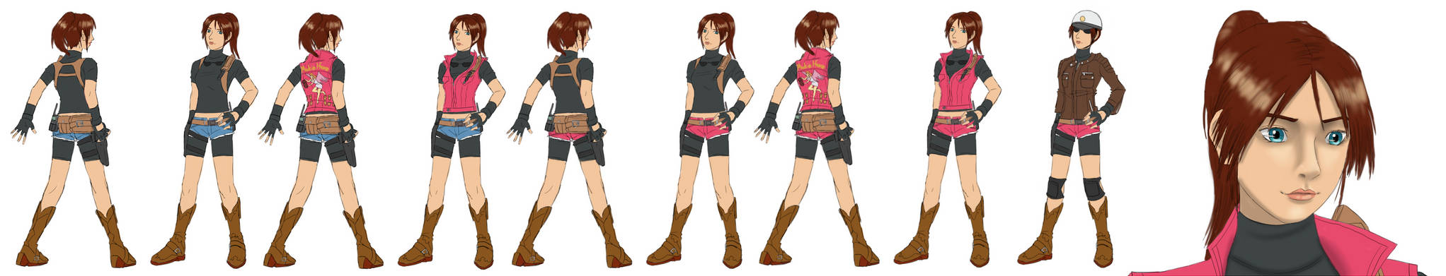 My Ideal Design for Resident Evil 2 Remake Claire