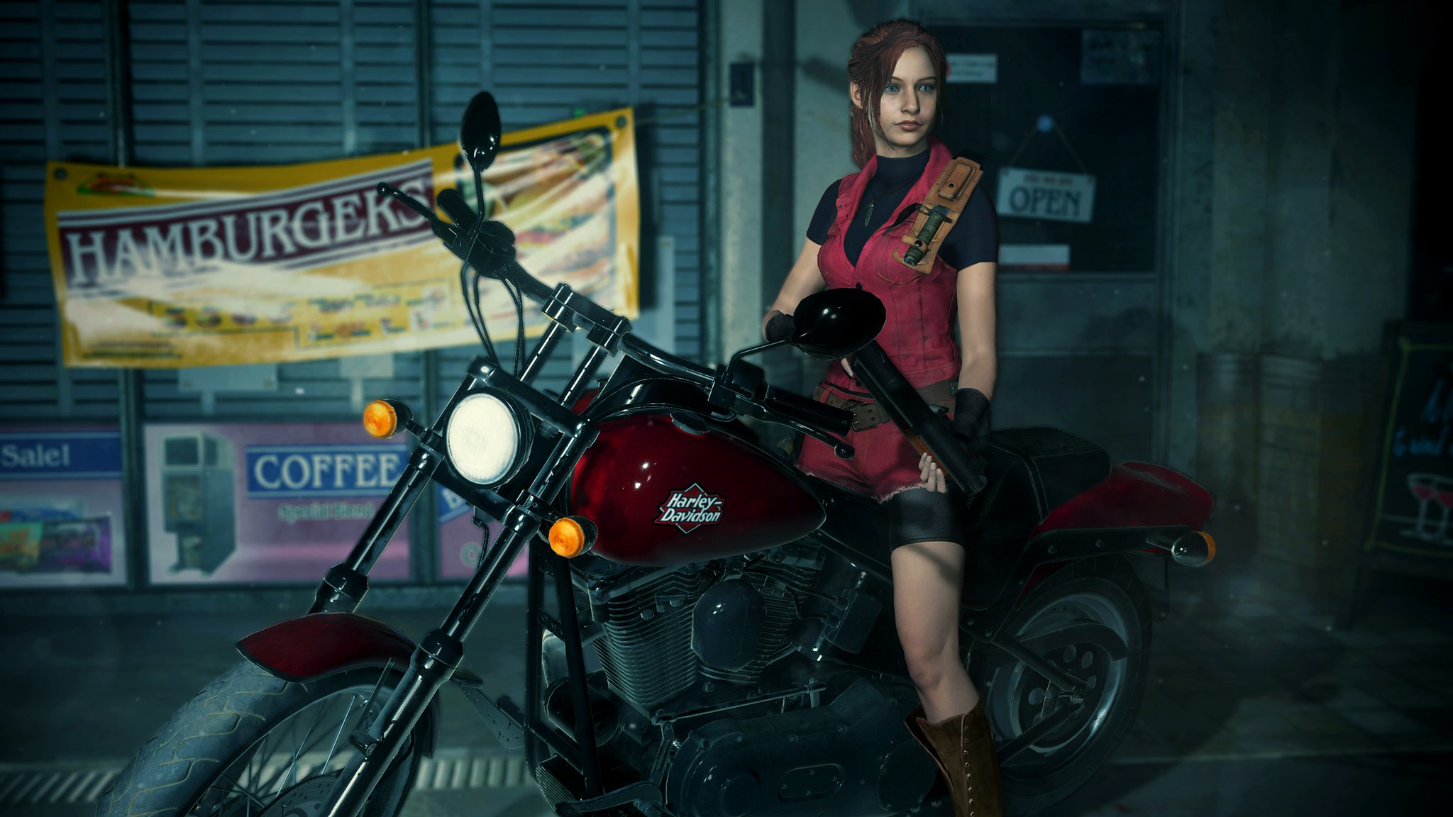 Resident Evil 2 Remake Claire Classic Costume Edit