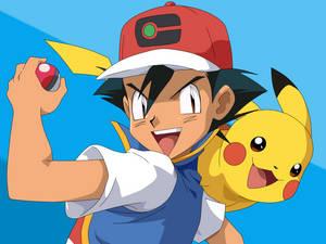 Gen 8 Satoshi in the old Pokemon anime stlye