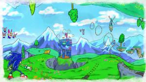 NiGHTs Pinball 1 - SA1 Remake Fan Concept Art