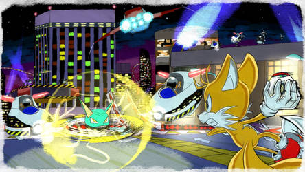 Tails Speed Highway - SA1 Remake Fan Concept Art