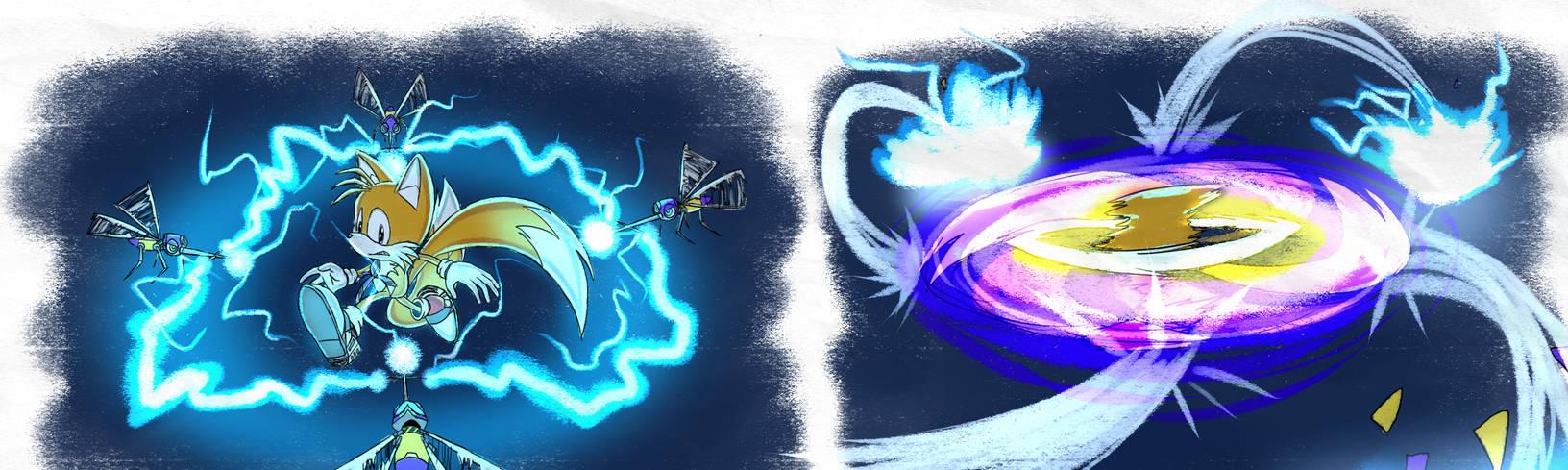 Egg Walker Shockers - SA1 Remake Fan Concept Art