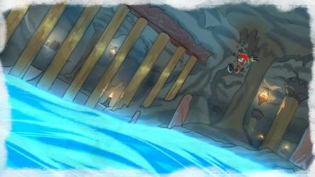 Knuckles' Sand Hill 2 - SA1 Remake Fan Concept Art
