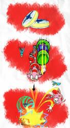 Amy's Gravity Rings - SA1 Remake Fan Concept Art