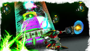 Gamma vs Zeta - SA1 Remake Fan Concept Art