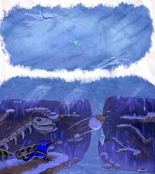 Big's Ice Cap End - SA1 Remake Fan Concept Art