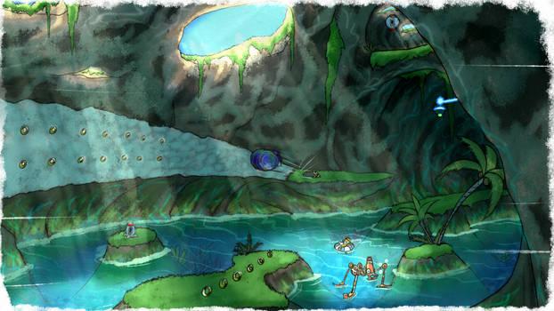 Big Emerald Coast - SA1 Remake Fan Concept Art