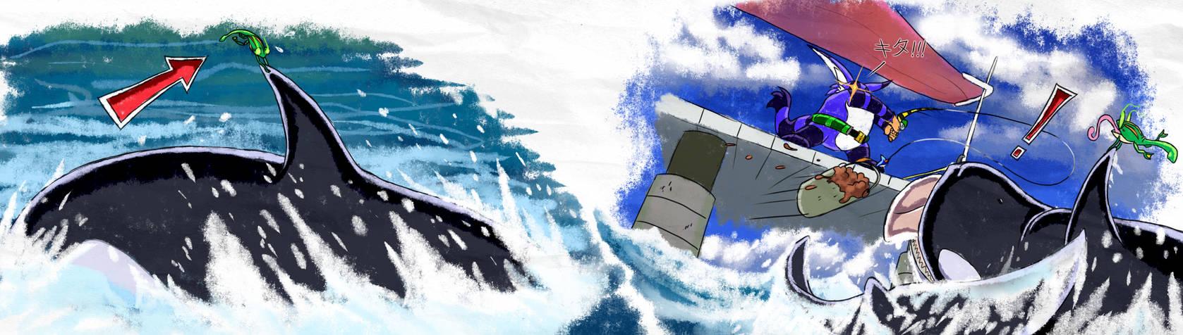 Big vs Whale - SA1 Remake Fan Concept Art