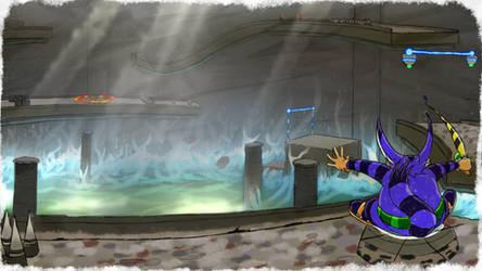 Big Lost World - SA1 Remake Fan Concept Art