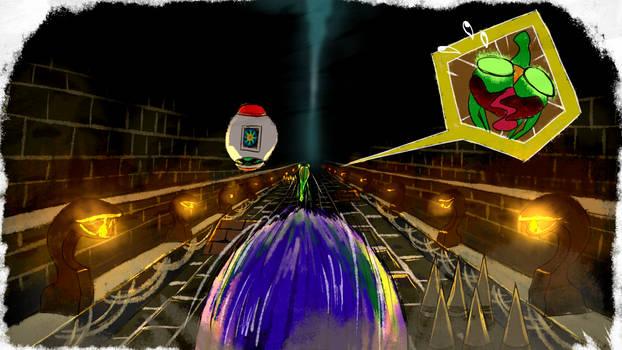 Big Froggy Chase - SA1 Remake Fan Concept Art