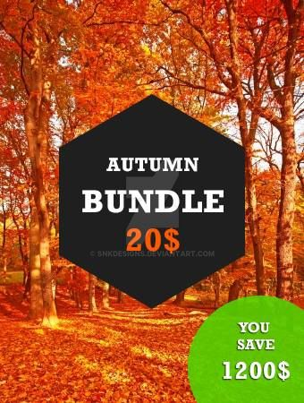 The Autumn Design Bundle by snkdesigns