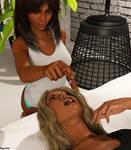 Gina feeds Jenny to Kendal