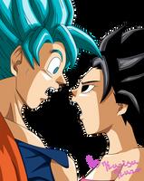 Teach me how I can be a super saiyan blue by Kurisukuro
