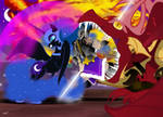 The Lunar Knight Of Nightmare Moon
