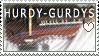 Hurdy-gurdy Stamp by ItsBlackorWhite