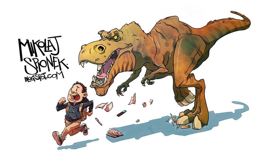 Dino Crisis by Mikolajj