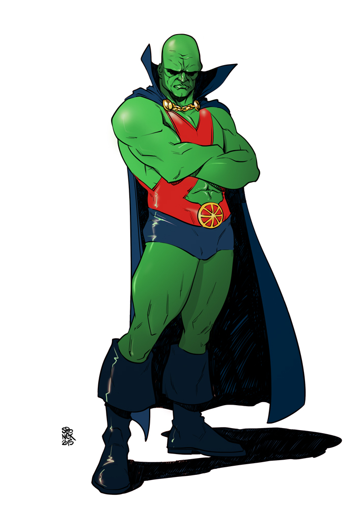 Martian-manhunter-Mikolaj-Spionek by Mikolajj