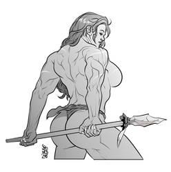 Tarzana by Mikolajj