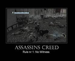 Assassins Creed Motivator by kr3cio