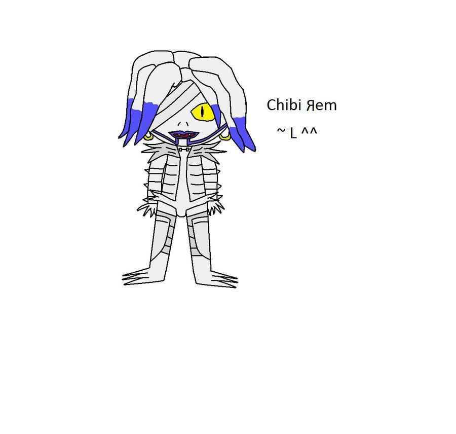 Chibi Rem by Shadowismrevilgecko
