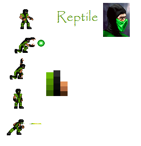 Reptile RMZ sheet by Tousou