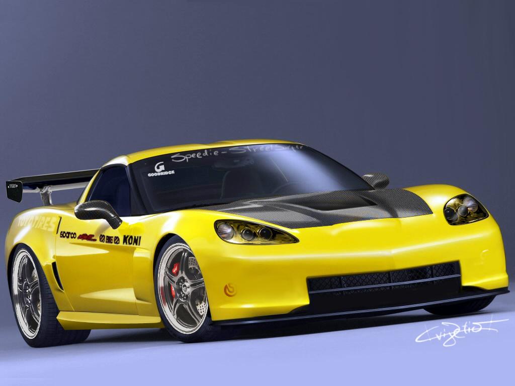 corvette zo6 drift car by streetsurfer on deviantart. Black Bedroom Furniture Sets. Home Design Ideas