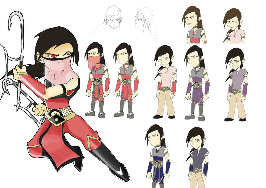 Character Design Competition : Character design contest warrior by leecheezy on deviantart