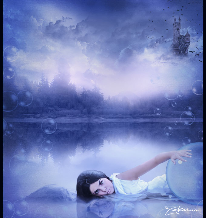 Dark blue place by Zakahia