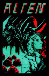 Alien Poster by Silicon65