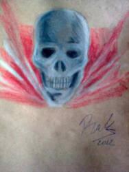 Caped Skull by oluklu
