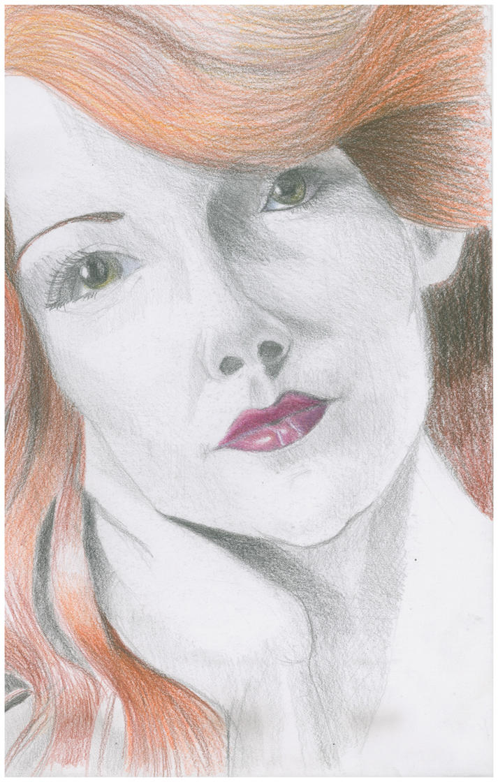 portrait of a friend by oluklu