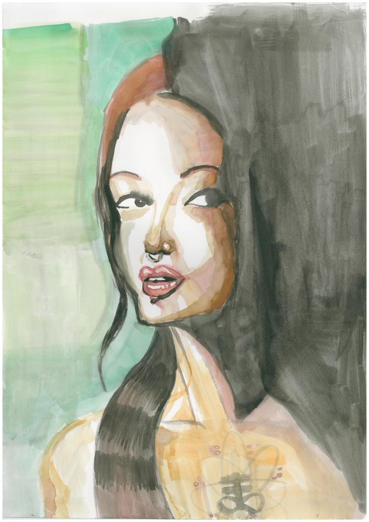 Dadedra Muse's Portrait by oluklu