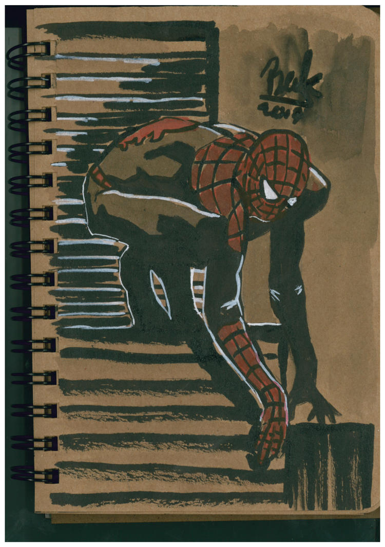 Spider Man by oluklu