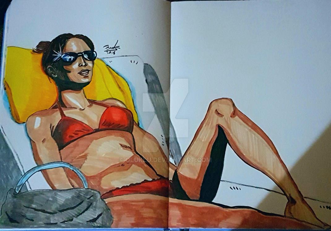 M.J In A Bikini by oluklu