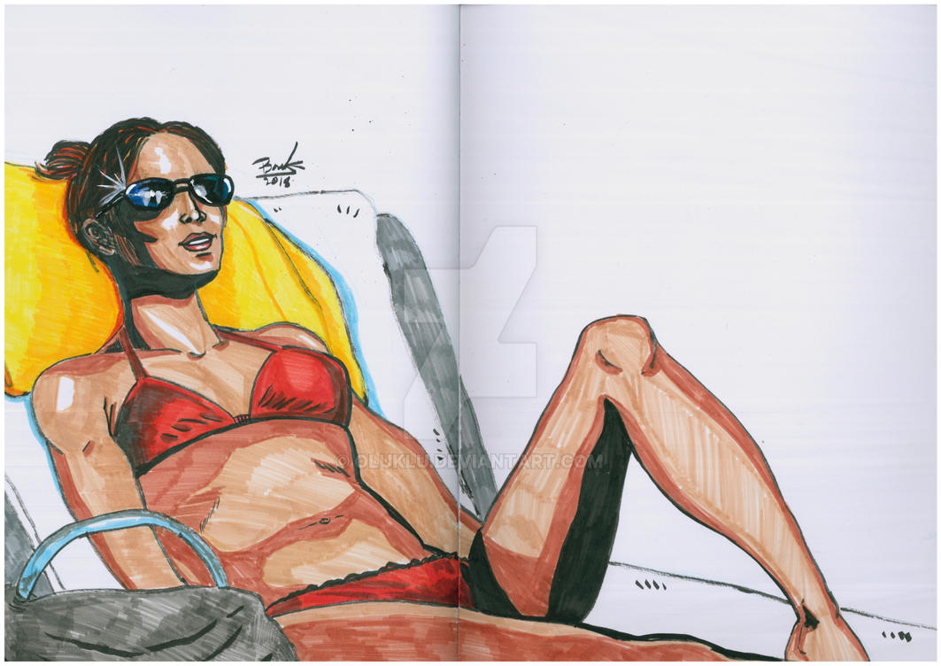 Bikini Girl by oluklu