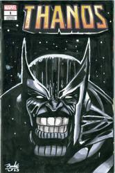Thanos Blank Cover Variant Artwork