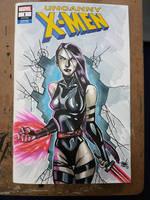 Psylocke Blank Cover Variant Art