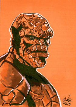 The Thing/ Fantastic 4