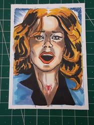 Gwen Stacy Sketchcard TASM 2 Edition