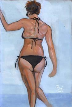 The Girl In A Bikini