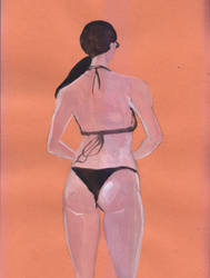 Adriana Lima Figure Drawing