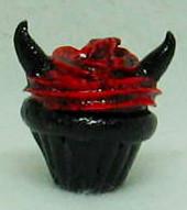 Evil Cupcake by MandaBeads