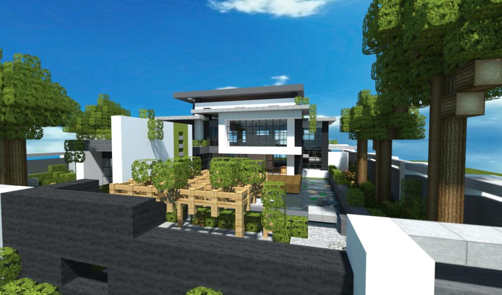 Minecraft Modern House by ddoogejun on DeviantArt